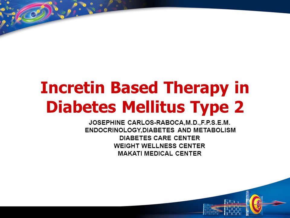 Incretin Based Therapy in Diabetes Mellitus Type 2
