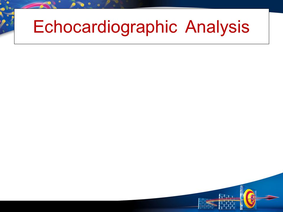 Echocardiographic Analysis