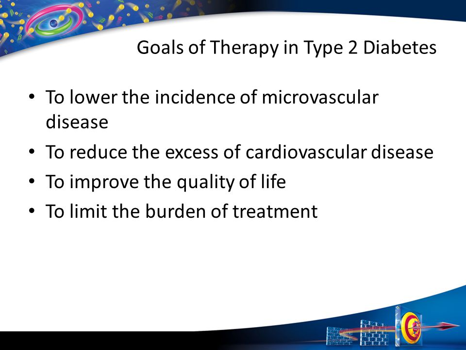Goals of Therapy in Type 2 Diabetes