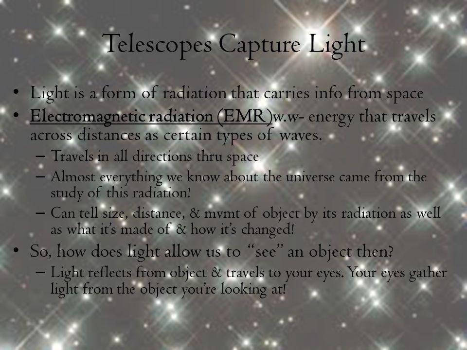Telescopes Capture Light