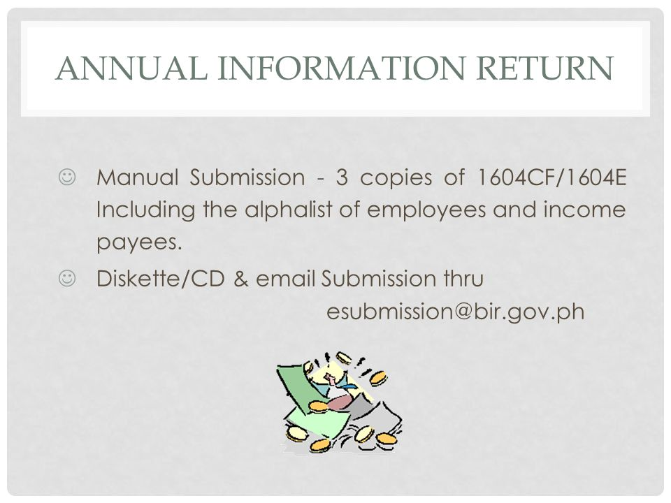 Annual Information Return
