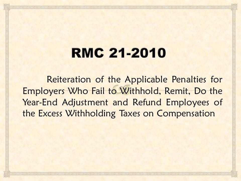 RMC 21-2010