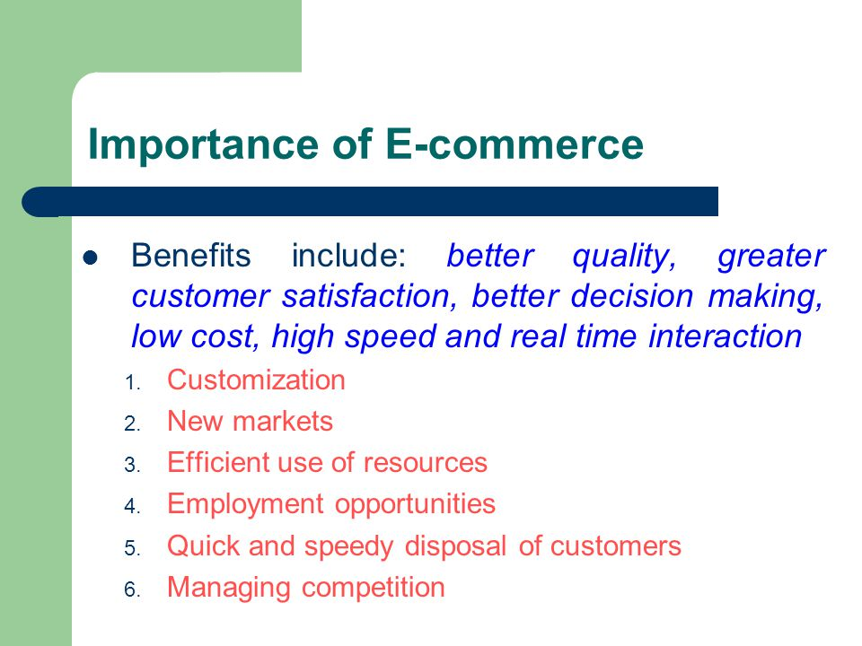 the importance of data gathering on consumers using the internet by e businesses And if you know which individual customers are the most valuable, you can go that extra mile to encourage them to spend with your business this guide pay on time: this is obviously important for cashflow reasons rather than marketing ones, but it's worth adding to the list anyway if you're thinking about data collection.