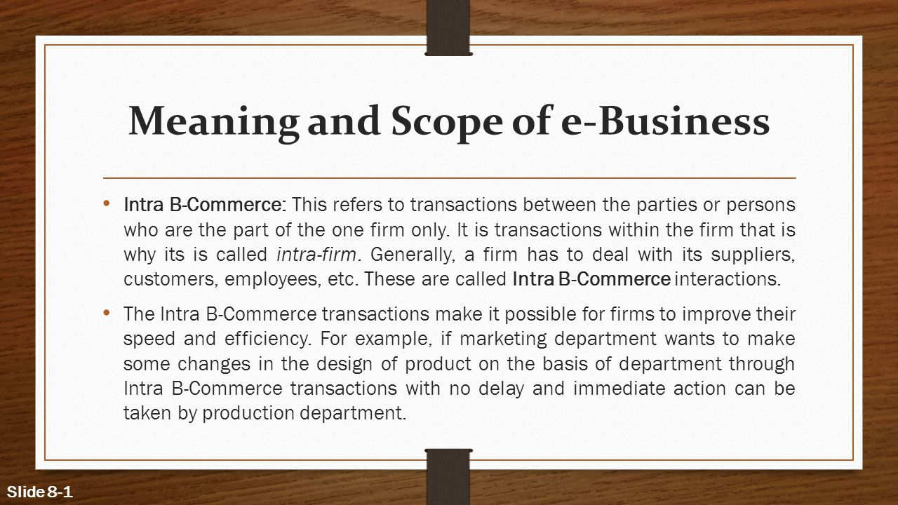 Emerging modes of business ppt video online download for Marketing scope of work template