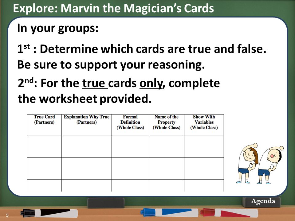 Explore: Marvin the Magician's Cards