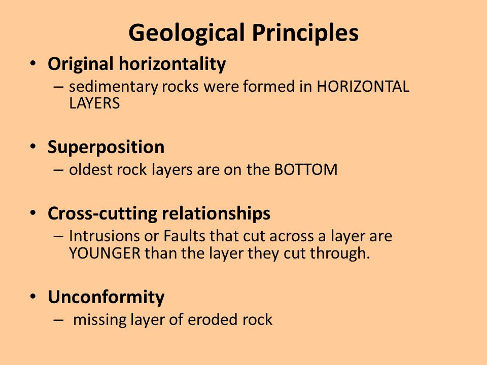 Geological Principles