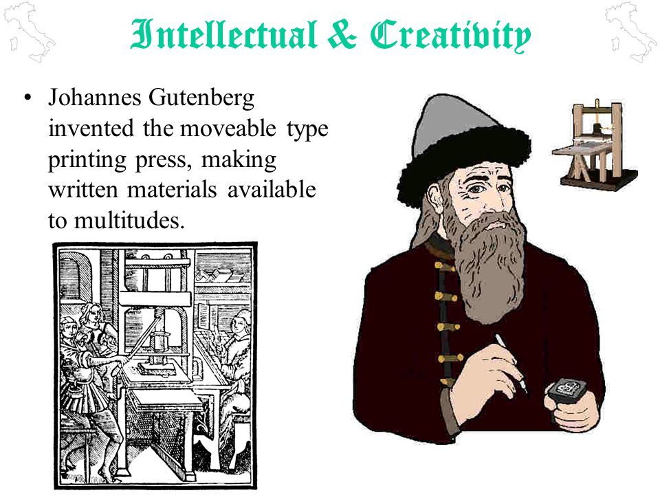 Intellectual & Creativity