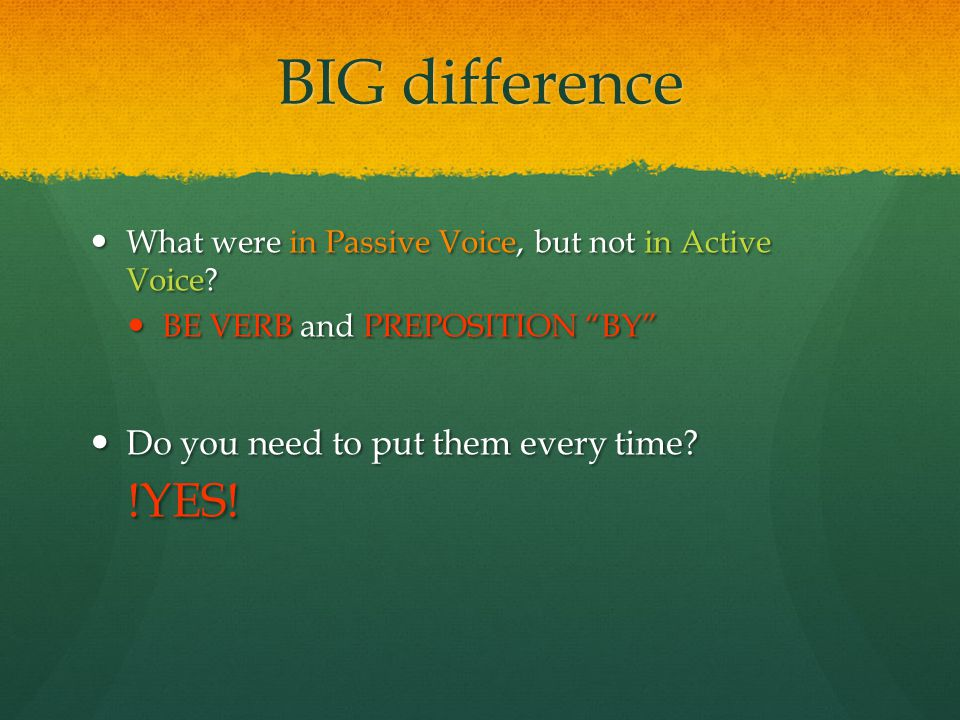 BIG difference !YES! Do you need to put them every time