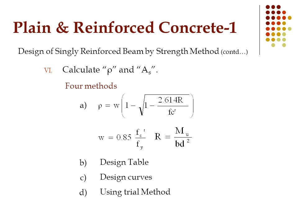 Plain & Reinforced Concrete-1