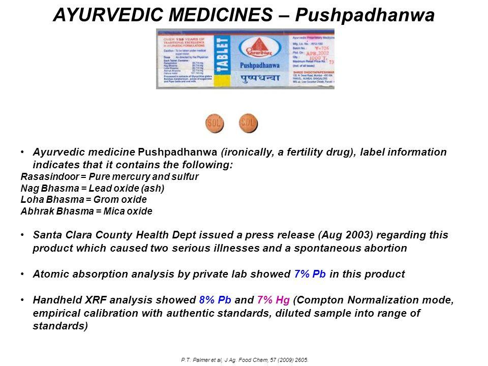 AYURVEDIC MEDICINES – Pushpadhanwa