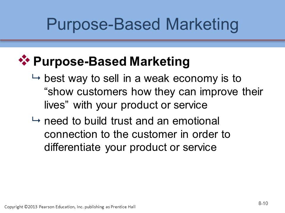 Purpose-Based Marketing