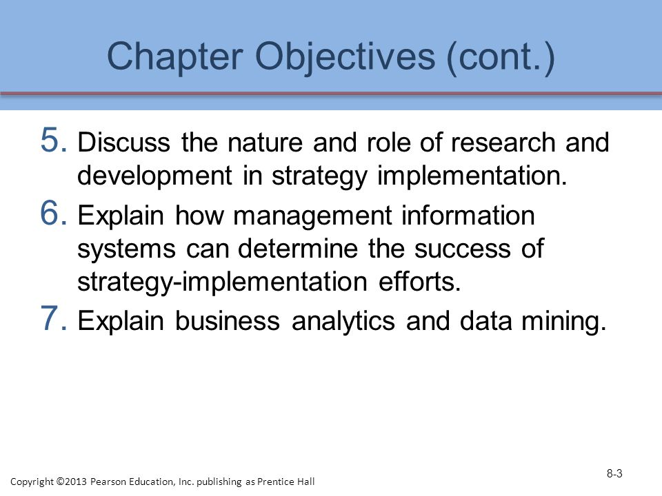 Chapter Objectives (cont.)