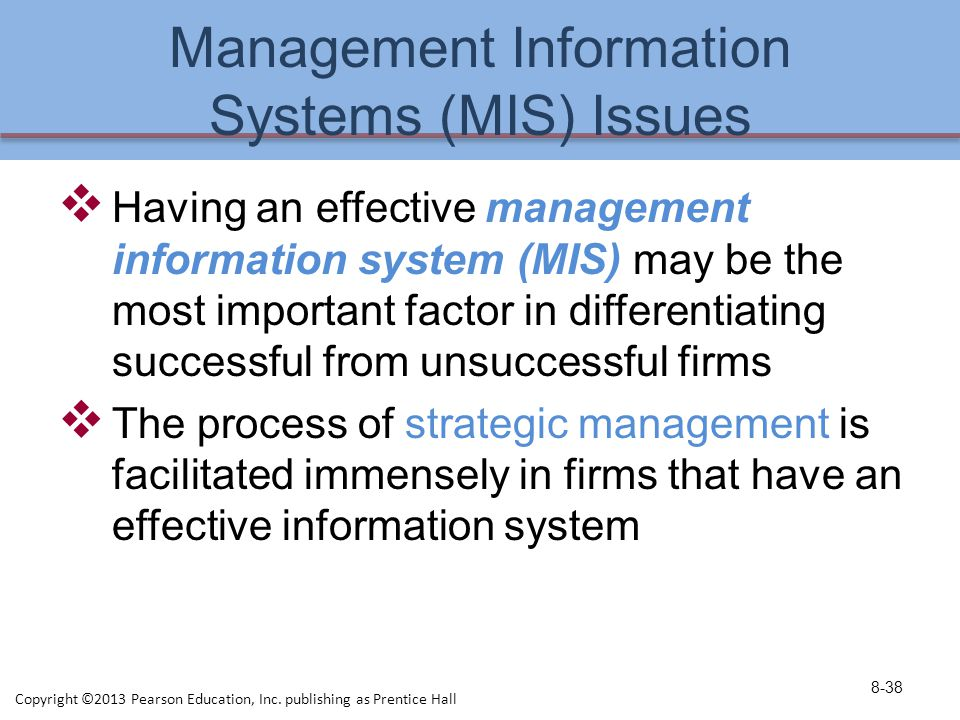 management information systems articles 2013