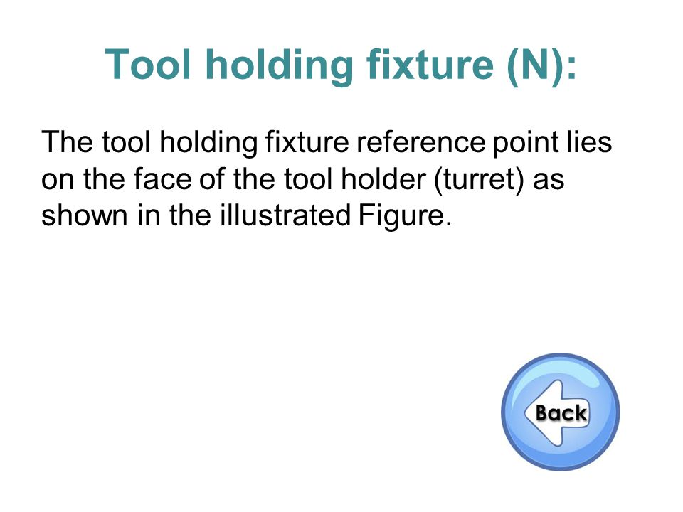 Tool holding fixture (N):