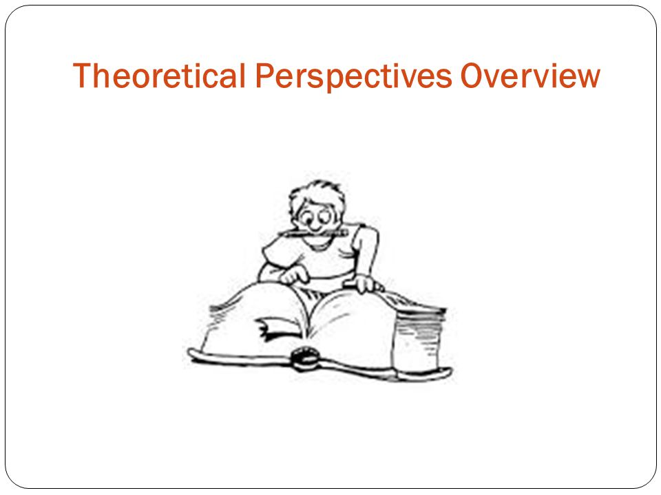 Theoretical Perspectives Overview