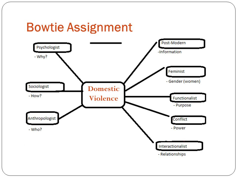 Bowtie Assignment Domestic Violence