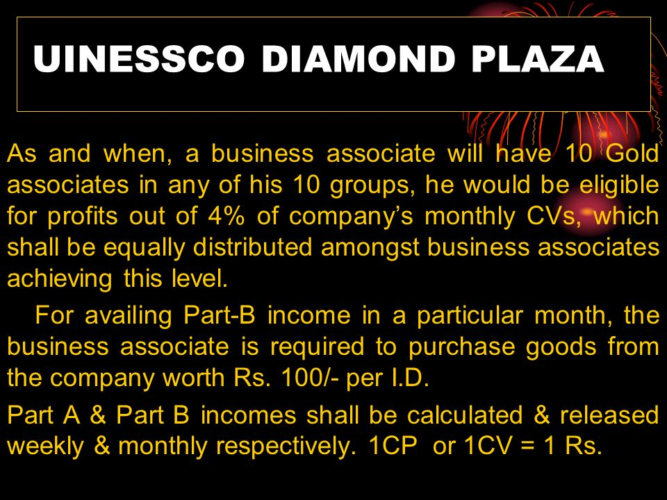 UINESSCO DIAMOND PLAZA