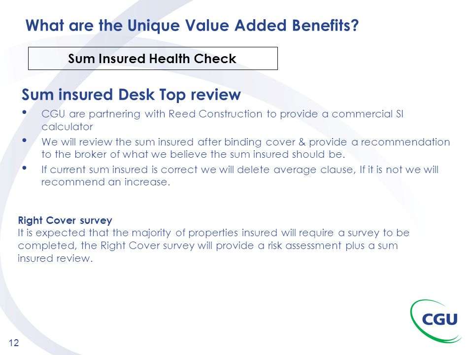 What are the Unique Value Added Benefits