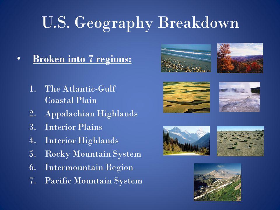 U.S. Geography Breakdown