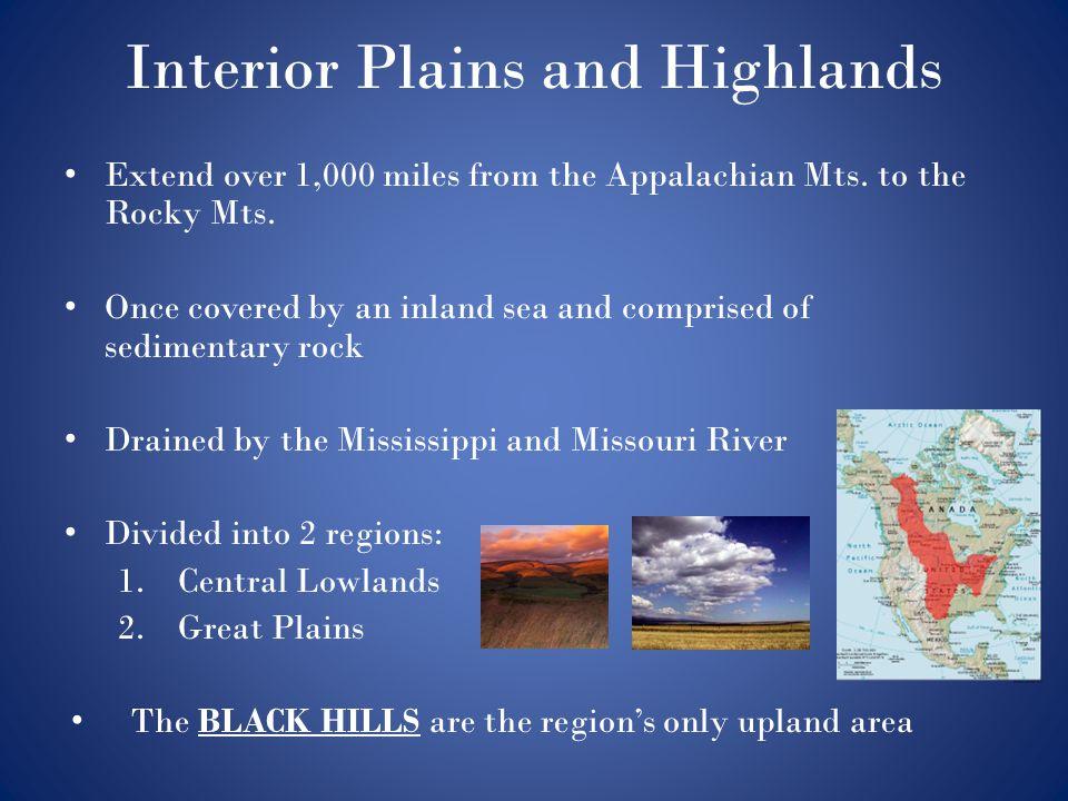 Interior Plains and Highlands