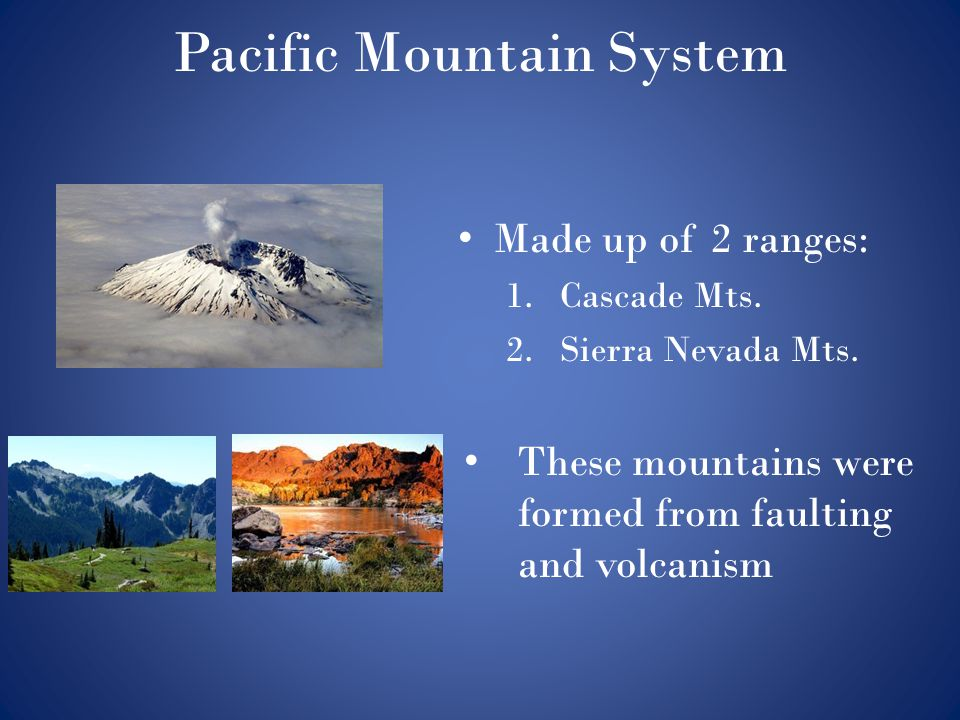 Pacific Mountain System