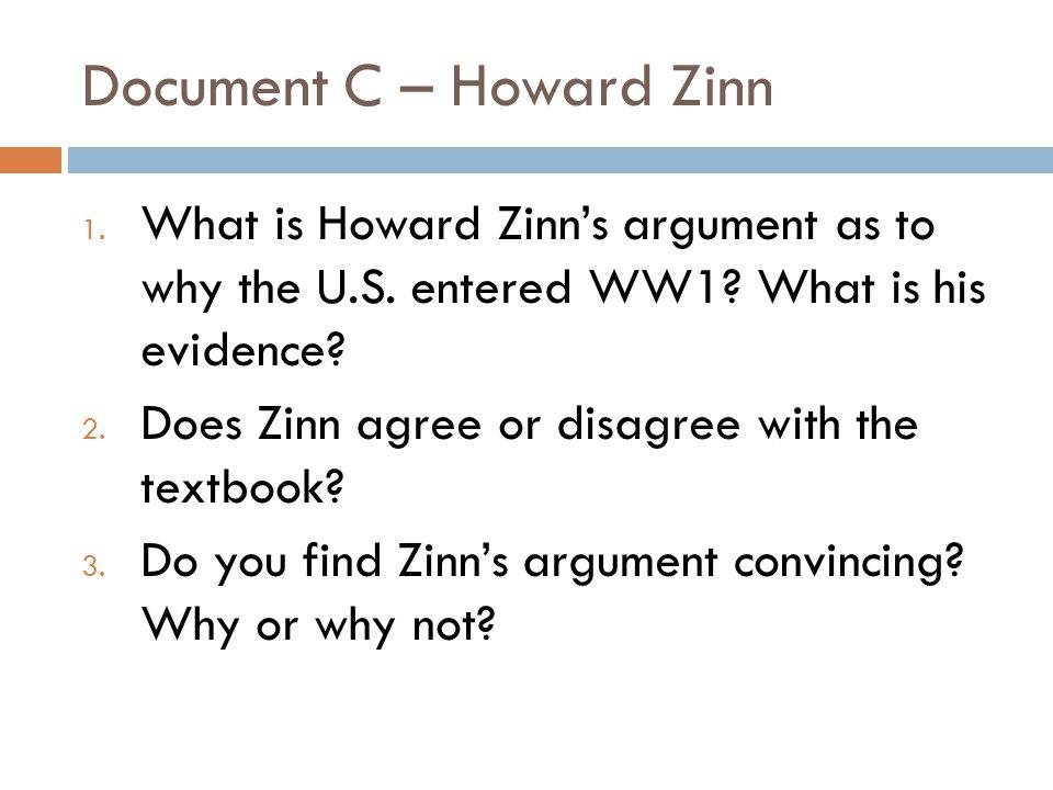 Document C – Howard Zinn
