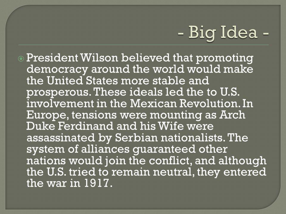 - Big Idea -