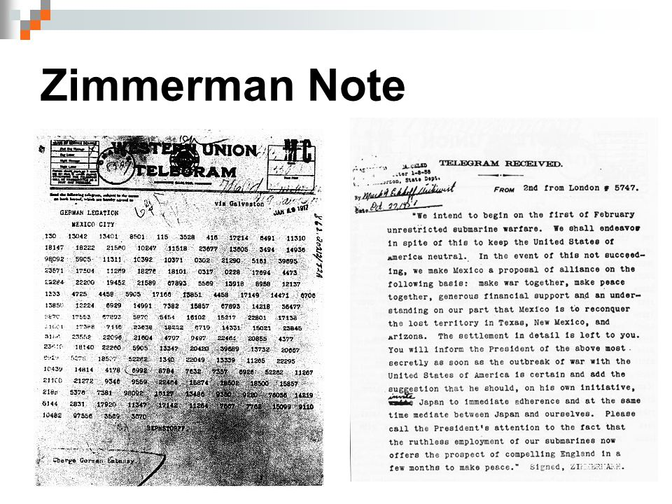 Zimmerman Note