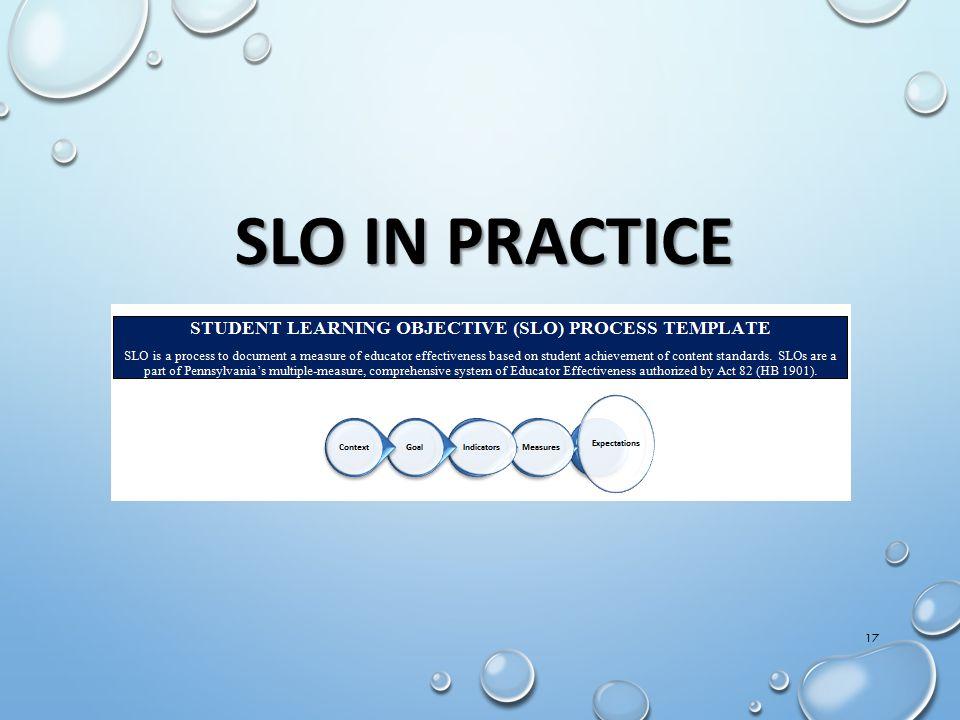SLO IN PRACTICE IMT Orientation Draft 02Sept11-CS
