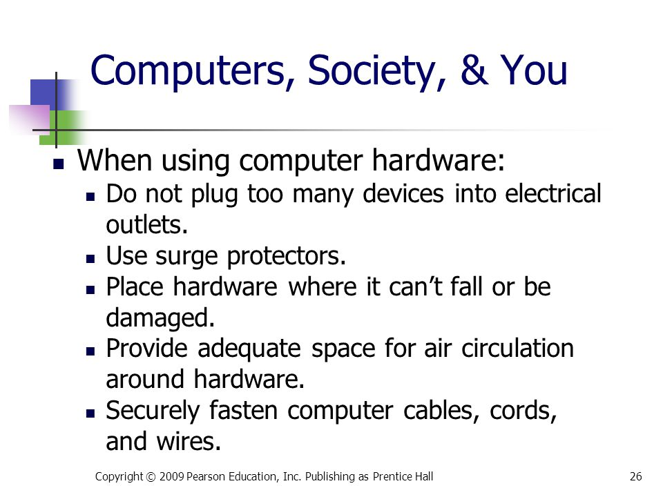 Computers, Society, & You