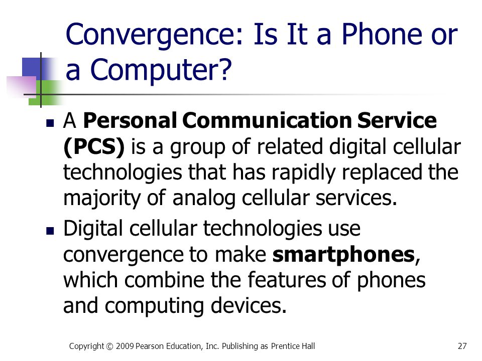 Convergence: Is It a Phone or a Computer