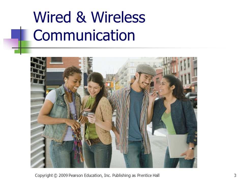 Wired & Wireless Communication