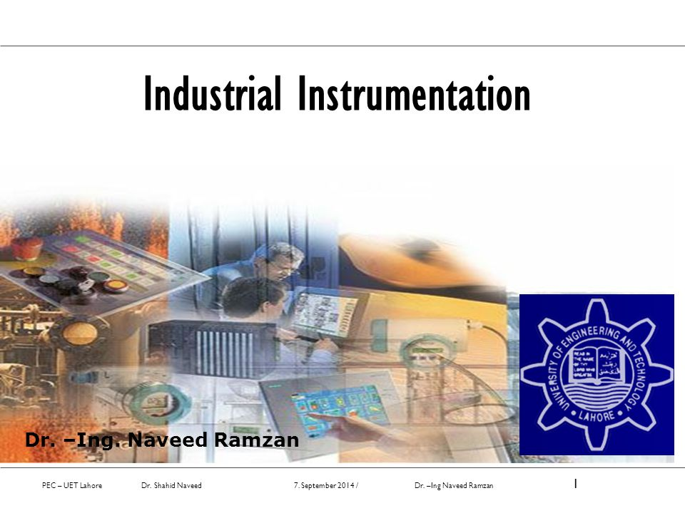 Industrial Instrumentation