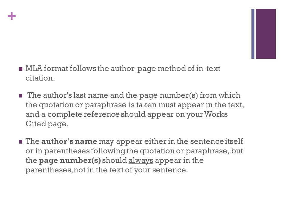 mla format two authors It is based on the 8th edition of the mla handbook published by the modern language association in multiple authors: previously the format of your citations.