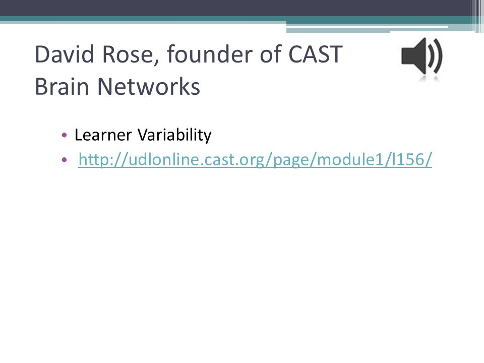 David Rose, founder of CAST Brain Networks