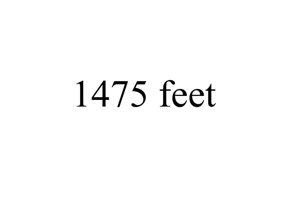 1475 feet