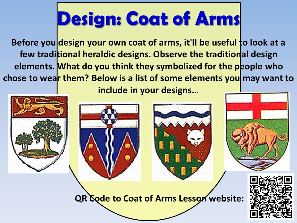 Design: Coat of Arms