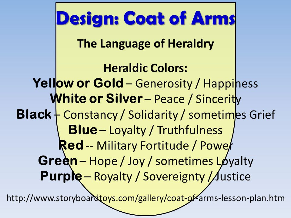 The Language of Heraldry