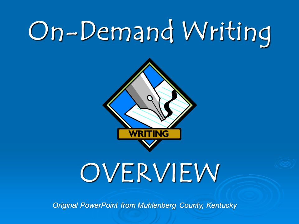 Original PowerPoint from Muhlenberg County, Kentucky