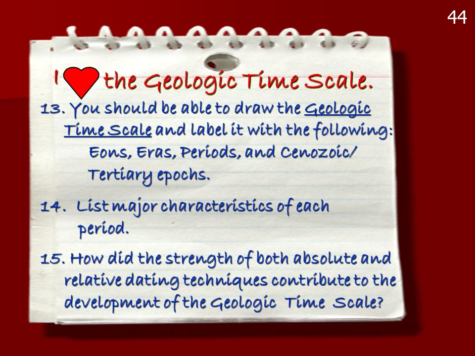 the Geologic Time Scale.