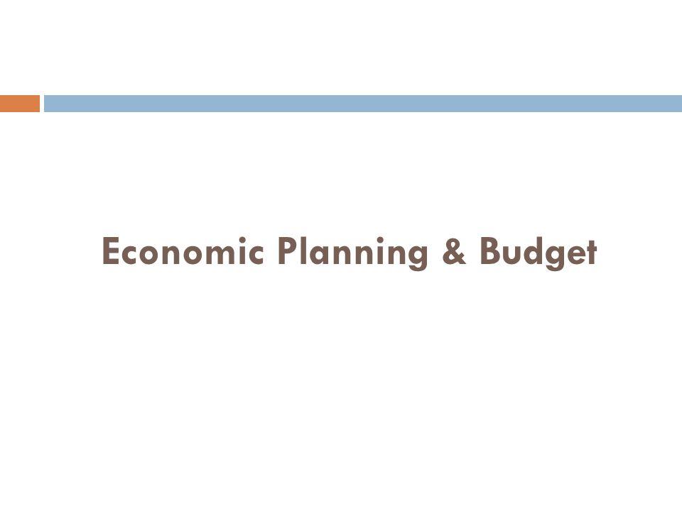 Economic Planning & Budget