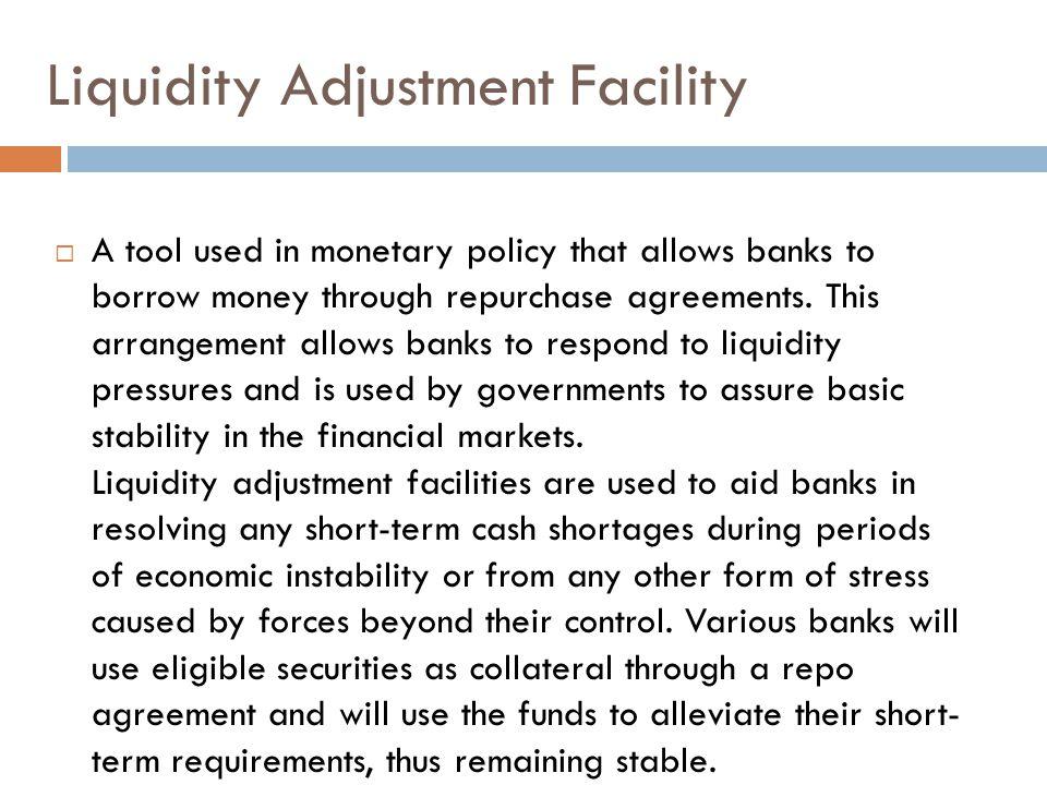 Liquidity Adjustment Facility