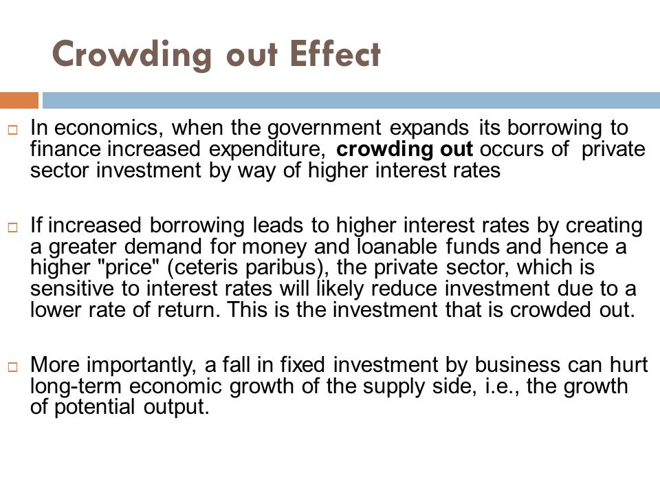 Crowding out Effect