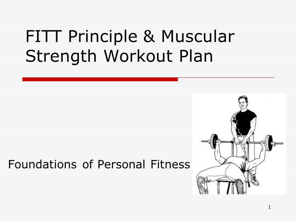 FITT Principle & Muscular Strength Workout Plan