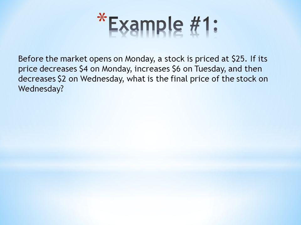 Example #1:
