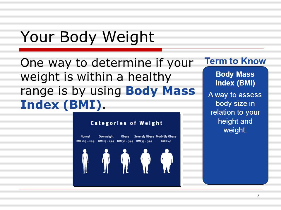A way to assess body size in relation to your height and weight.