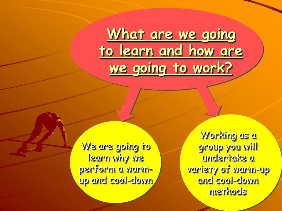 What are we going to learn and how are we going to work