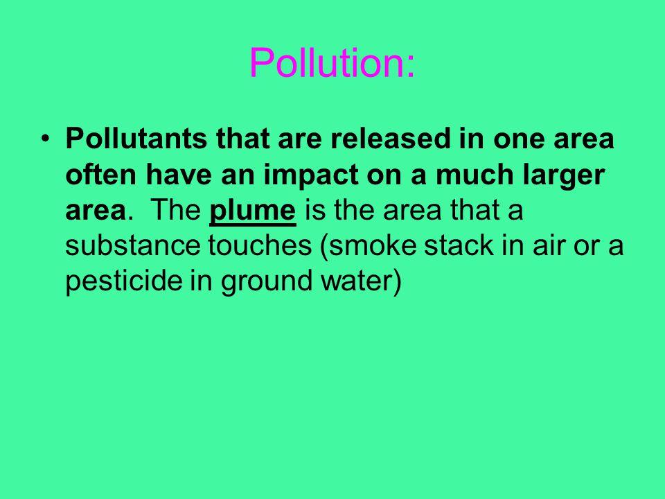 Pollution: