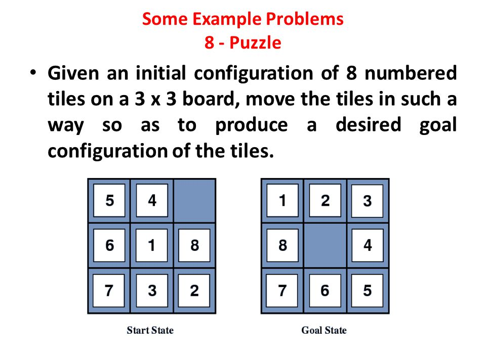 Some Example Problems 8 - Puzzle