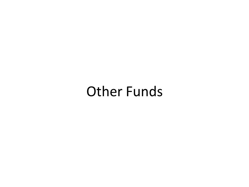 Other Funds